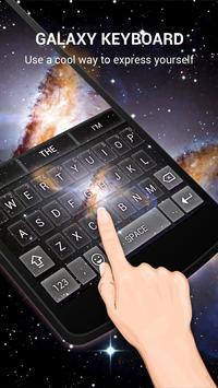Neon Galaxy Keybaord Theme apk screenshot