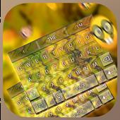 Neon Gold Keybaord Theme icon