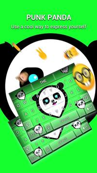 Punk Panda Keybaord Theme - Panda app screenshot 4