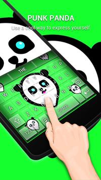 Punk Panda Keybaord Theme - Panda app screenshot 5