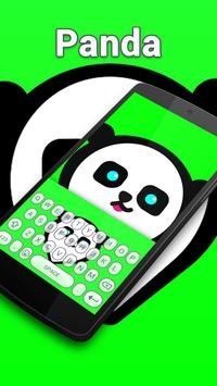 Punk Panda Keybaord Theme - Panda app screenshot 2
