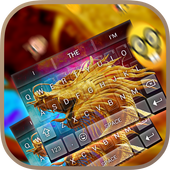 Pure Gold Keybaord Theme icon