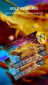 Pure Gold Keybaord Theme apk screenshot