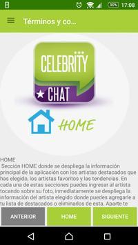 Celebrity Chat screenshot 2