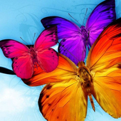 Jigsaw Puzzle Butterfly icon