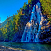 Waterfall Jigsaw Puzzle icon
