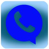 واتس ااب ازرق بلاص icon