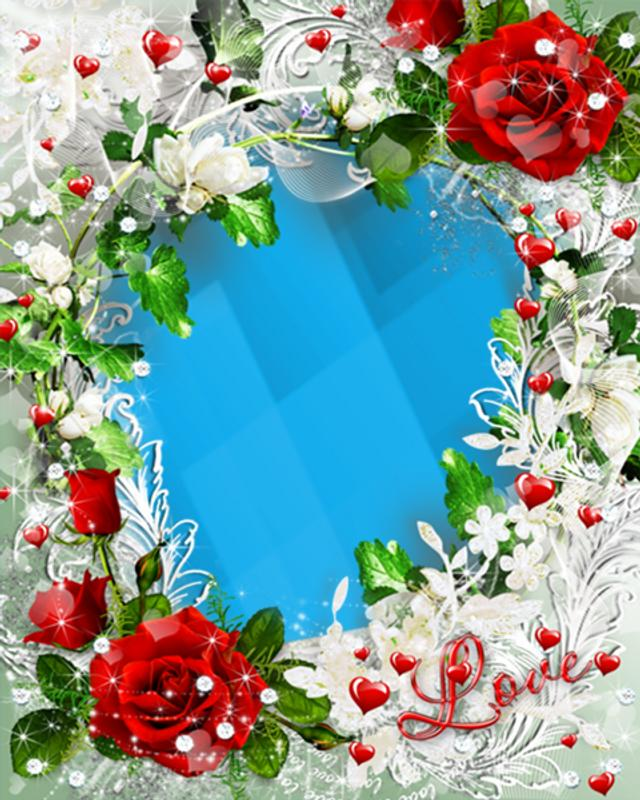 Love Photo Download: Love Flowers Photo Frames For Android