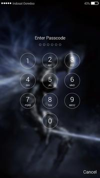 Dark Shadow Lock Screen Pro screenshot 1