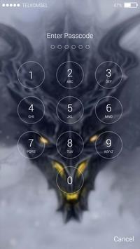 Dragon Lock Screen Wallpaper screenshot 1