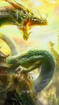 Dragon Lock Screen Wallpaper screenshot 2