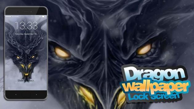 Dragon Lock Screen Wallpaper screenshot 4