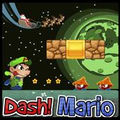 Christmas Dash Mario icon