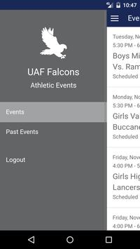 UAF Falcons poster