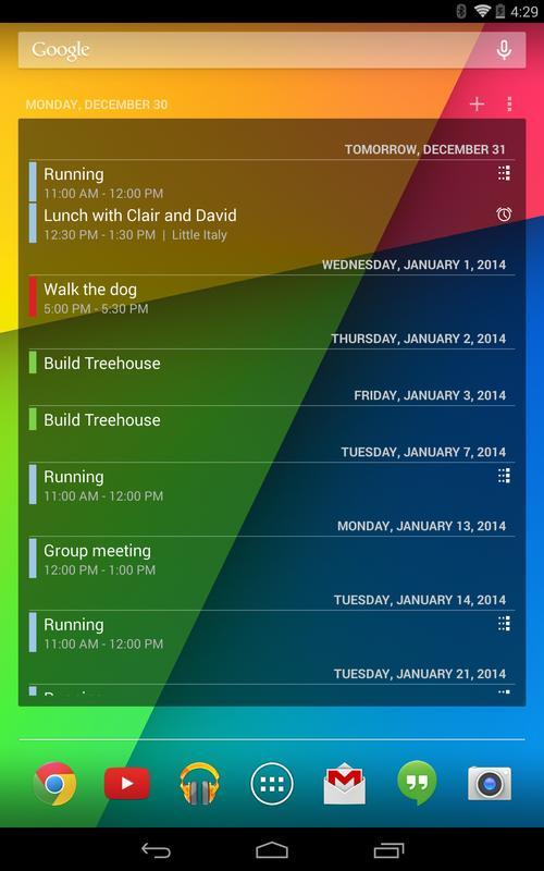 Calendar App Widget Android : Calendar widget apk download gratis produktivitas apl