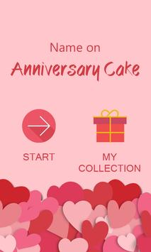 Name on Anniversary Cake screenshot 1