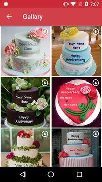 Name on Anniversary Cake screenshot 2