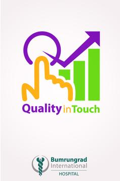 Quality in-Touch poster