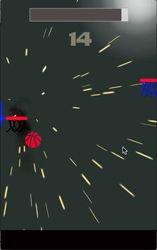 Dunk hit black - dunk shot basketball screenshot 1
