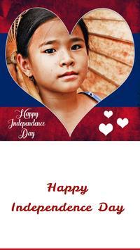 Laos Independence Day Frames apk screenshot