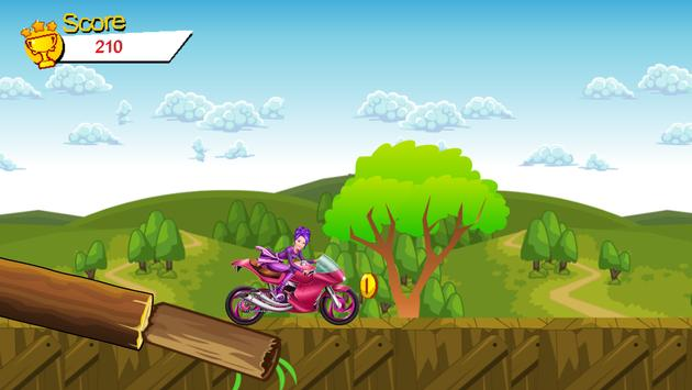 Hill Climbing for Barbie apk screenshot