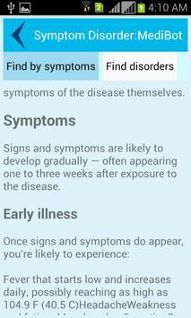 Symptom Disorder:MediBot screenshot 7
