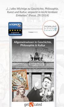 getucated LITE Allgemeinwissen poster