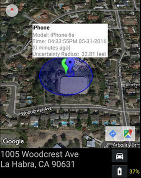 Find My Lost iPhone via iCloud screenshot 1