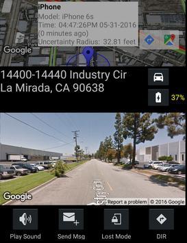 Find My Lost iPhone via iCloud screenshot 2