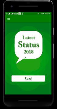 Latest Status 2018 screenshot 1