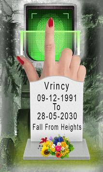 Death Scanner Live prank poster