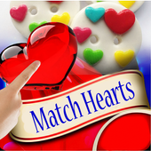Heart Matching Lovers Game icon