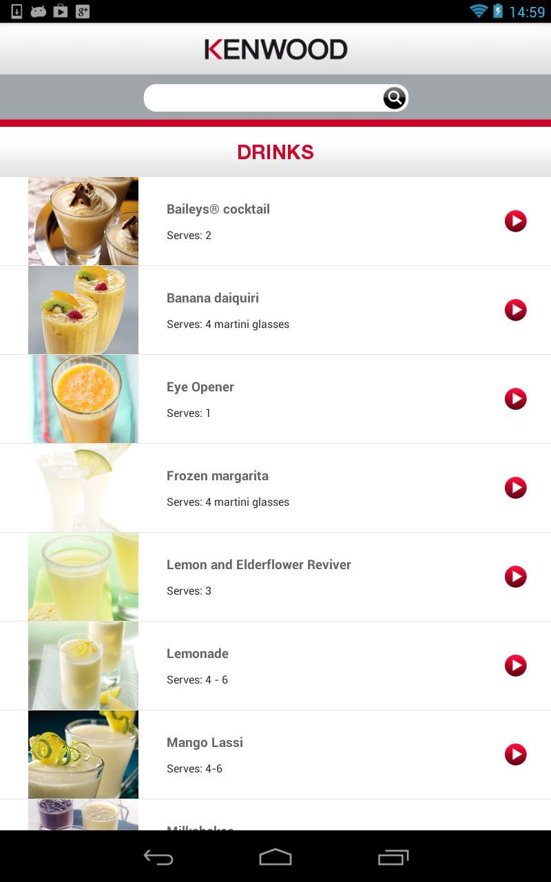 Kenwood Kitchen Recipe App for Android - APK Download