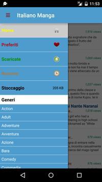 Italiano Manga screenshot 1