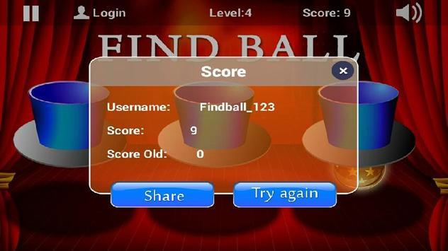 Find Ball Pro apk screenshot