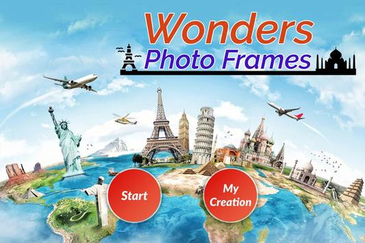 Seven Wonder Photo Frame poster