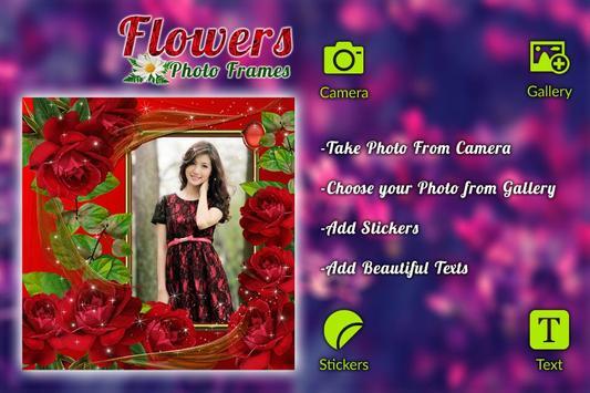 Flower Photo frame screenshot 3