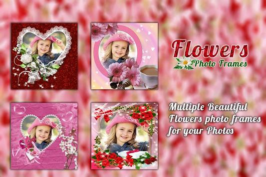 Flower Photo frame screenshot 4