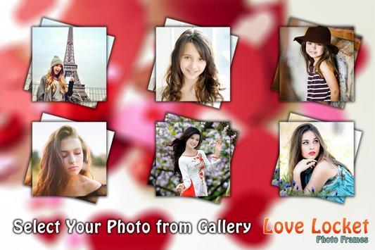 Love Locket Photo Frame screenshot 2