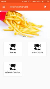 Roxy Cinema Food Ordering screenshot 1