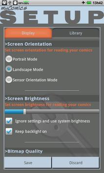 myComics apk screenshot