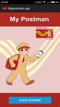 Mypostman app poster