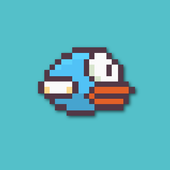 Blue Flying Bird icon