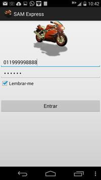 Sistema Motofrete-SAM Express screenshot 1