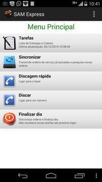 Sistema Motofrete-SAM Express screenshot 2