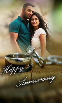 Happy Anniversary Photo Editor poster