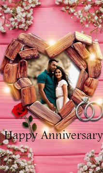 Happy Anniversary Photo Editor screenshot 1