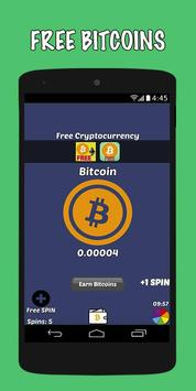Poster Earn Bitcoins For Free