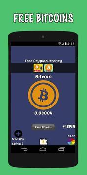 Dapatkan Bitcoin Gratis poster