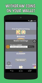 Dapatkan Bitcoin Gratis screenshot 1